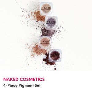 Naked Cosmetics 4-Piece Pigment Collection NWT